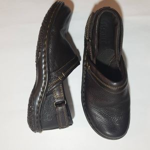 Born Brown Leather Loafers